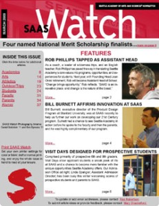 SAASWatch March 2009