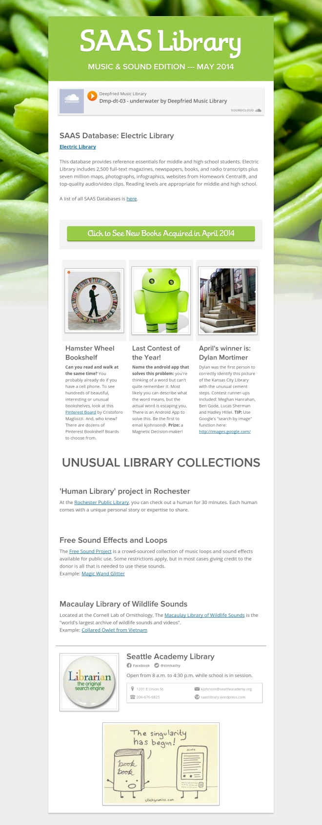 May 2014 Library Flyer