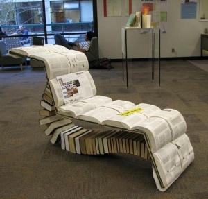 book chaise